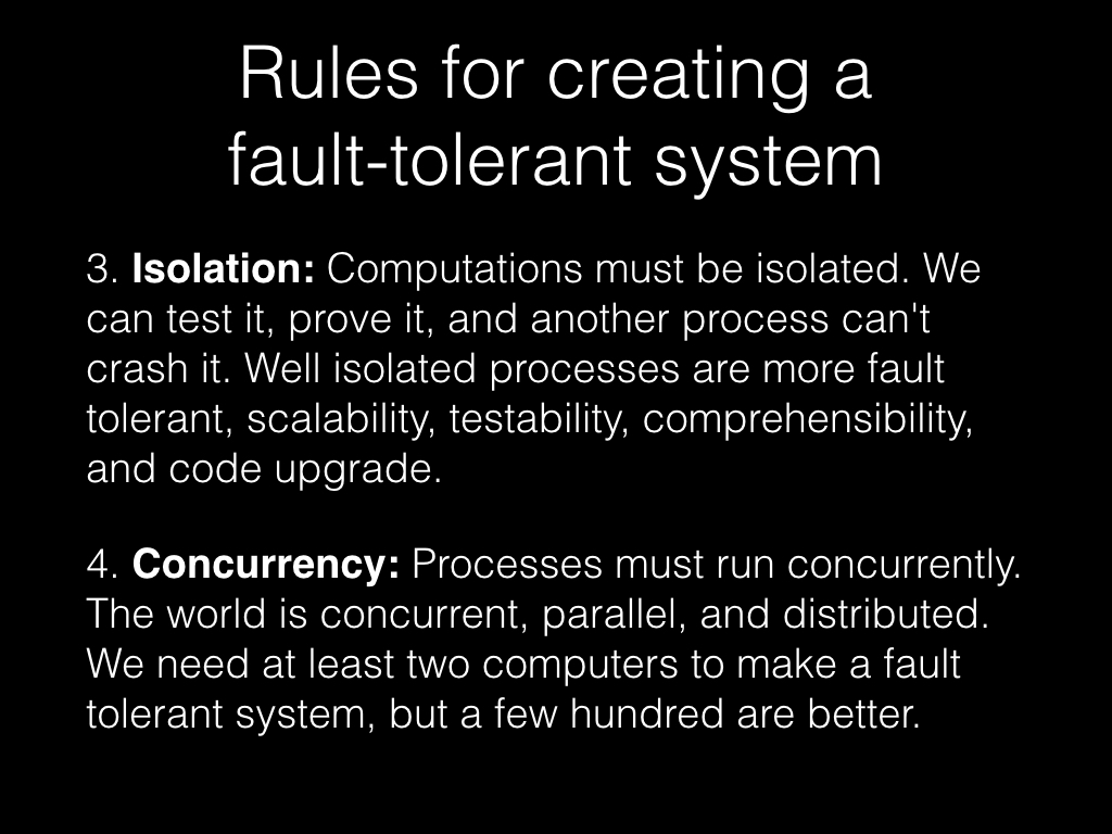 Slide: Isolation and concurrency.